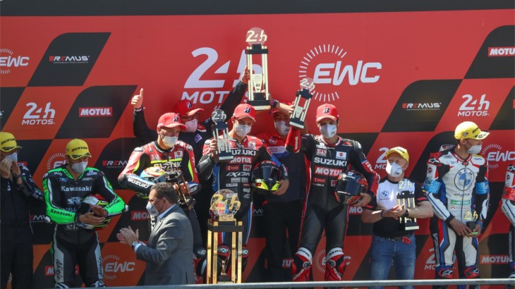 世界耐久選手権(EWC)ル・マン24時間耐久ロードレースでYoshimura SERT Motulが完全優勝