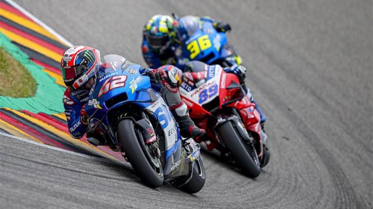 MotoGP2021 ドイツGP11位アレックス・リンス「腕が100%ではないため苦戦した」