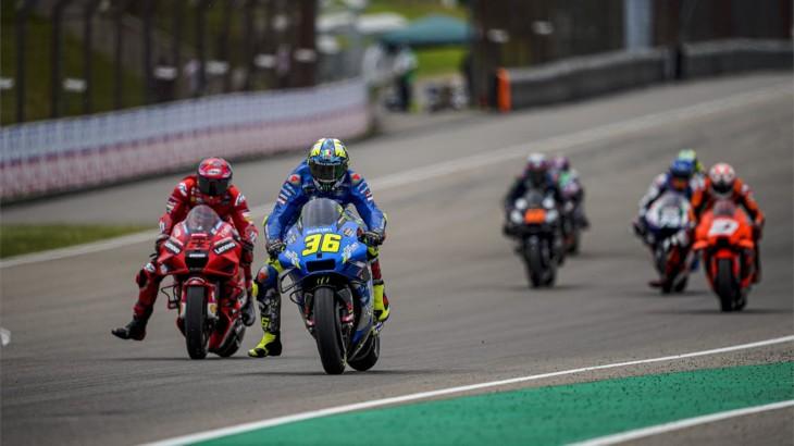 MotoGP2021 ドイツGP9位ジョアン・ミル「懸命にプッシュしたけど、限界だった」