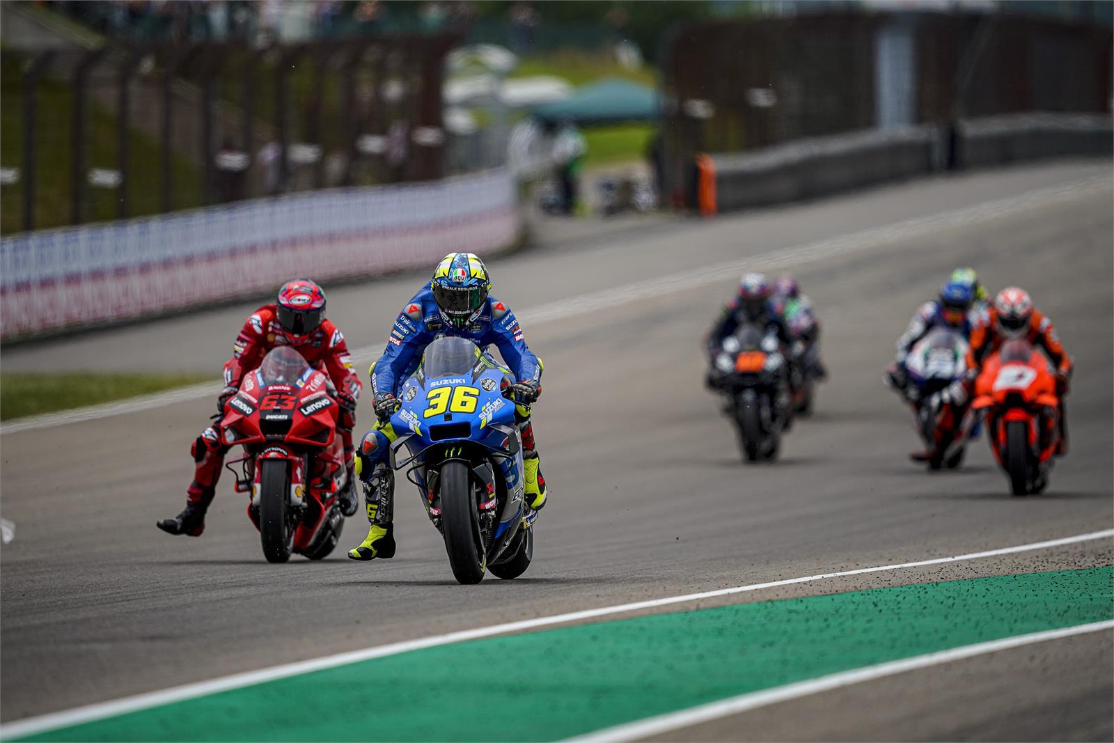 MotoGP2021 ドイツGP9位ジョアン・ミル「懸命にプッシュしたが限界だった」