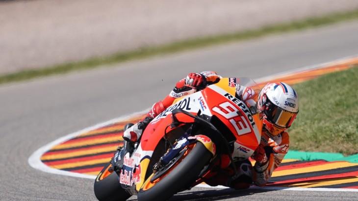 MotoGP2021 ドイツGP初日総合12位 マルク・マルケス「金曜はレースペースの作り込みをしていた」