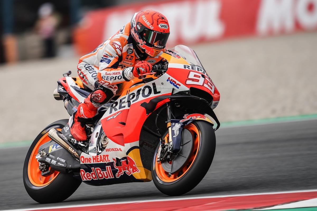 MotoGP2021 オランダGP 総合6位マルク・マルケス「あの種の転倒はホンダでしか起きない」