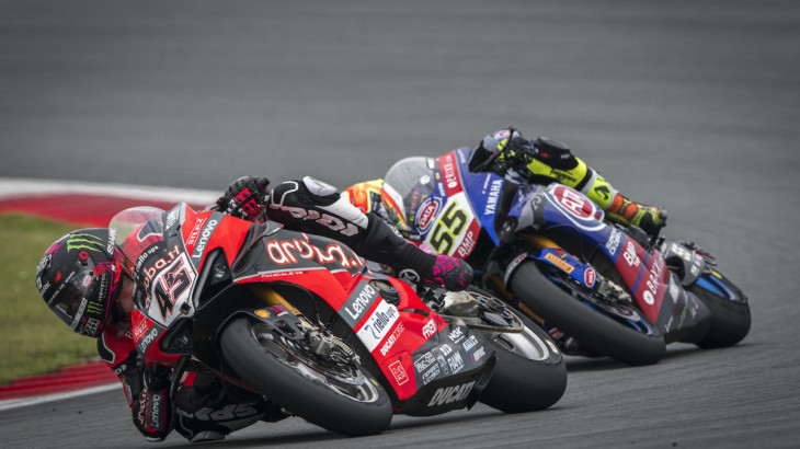 FIM スーパーバイク世界選手権(SBK)オランダ戦 スコット・レディング「フロントのフィーリングに苦戦」