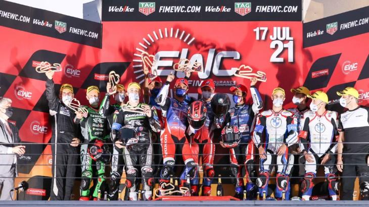 エストリル12時間耐久 波乱のレースで優勝したのはF.C.C. TSR Honda France