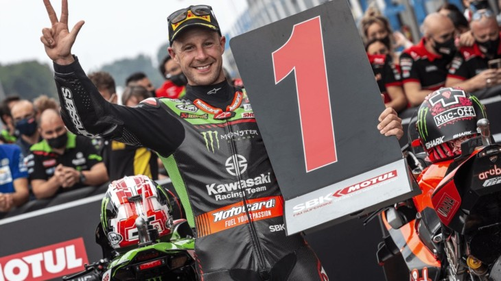 FIM スーパーバイク世界選手権(SBK)オランダ戦 ジョナサン・レイ「3連勝出来たのは嬉しい」