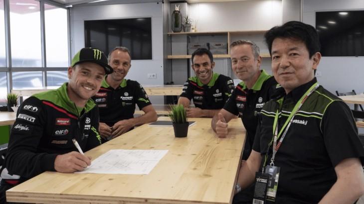 FIM スーパーバイク世界選手権(SBK)アレックス・ロウズ KRTと2年間の契約を更新