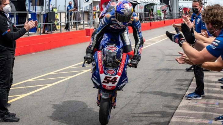 FIM スーパーバイク世界選手権(SBK)イギリス戦 トプラック・ラズガトリオグル「2つの勝利についてヤマハとチームに感謝したい」