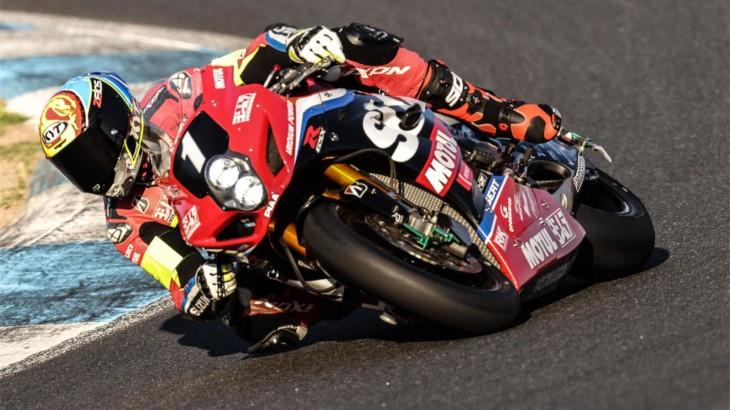 ヨシムラSERT Motul 2度の転倒にも関わらずエストリル12時間耐久を17位で完走