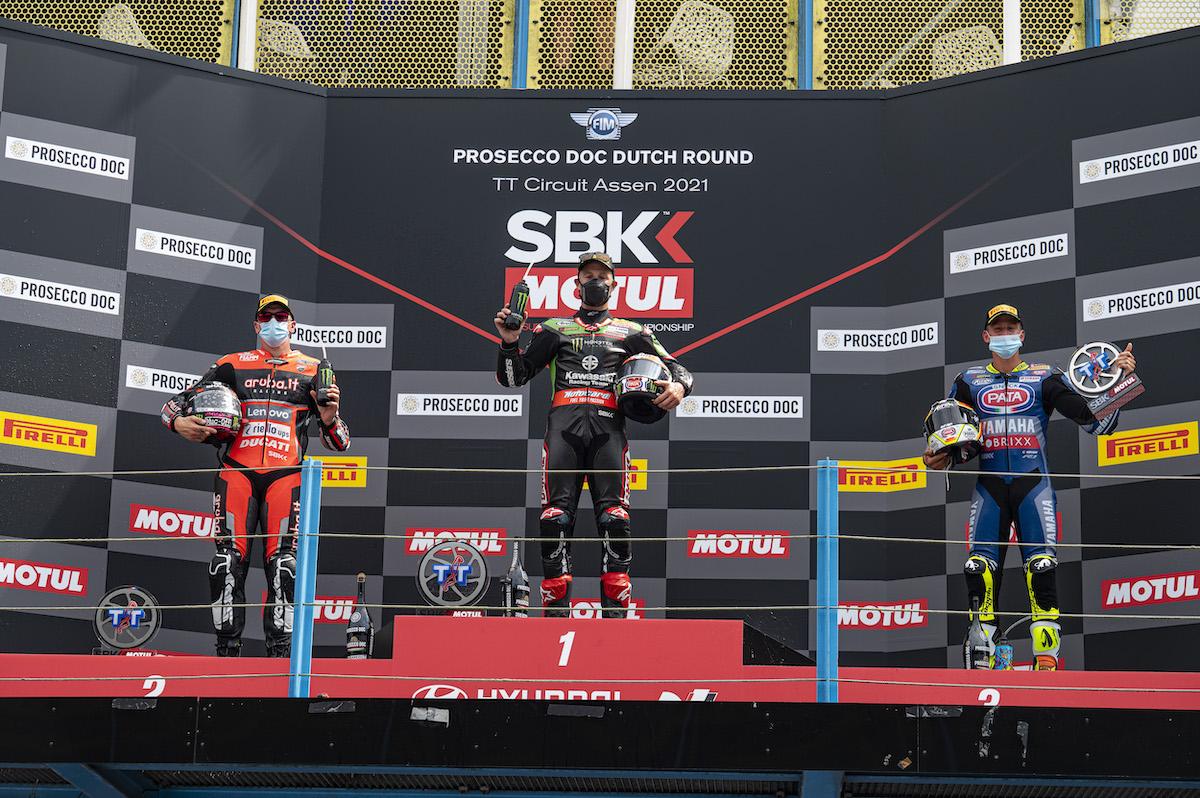 ピレリ(Pirelli)レースレビュー FIM スーパーバイク世界選手権(SBK)オランダ戦スーパーポールレース、レース2