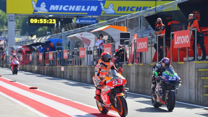 MotoGP2021スティリアGP 初日総合6位 マルク・マルケス「FP1では肩に違和感があった」