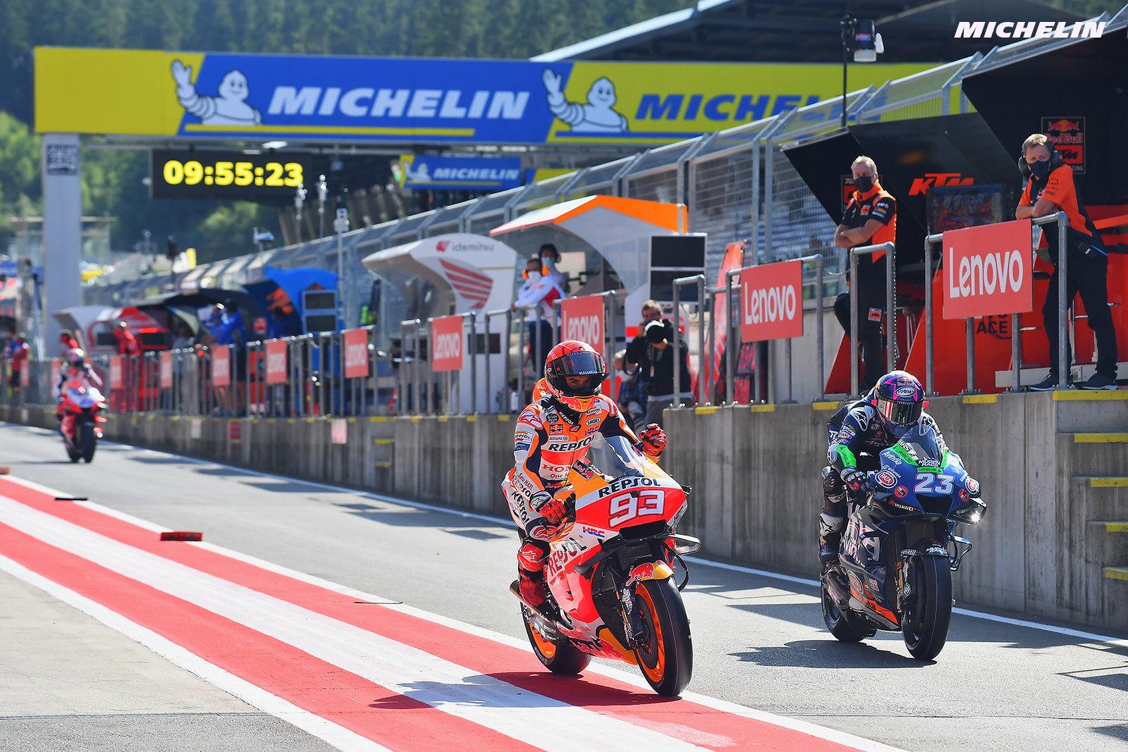 MotoGP2021 初日総合6位 マルク・マルケス「FP1では肩に違和感があった」