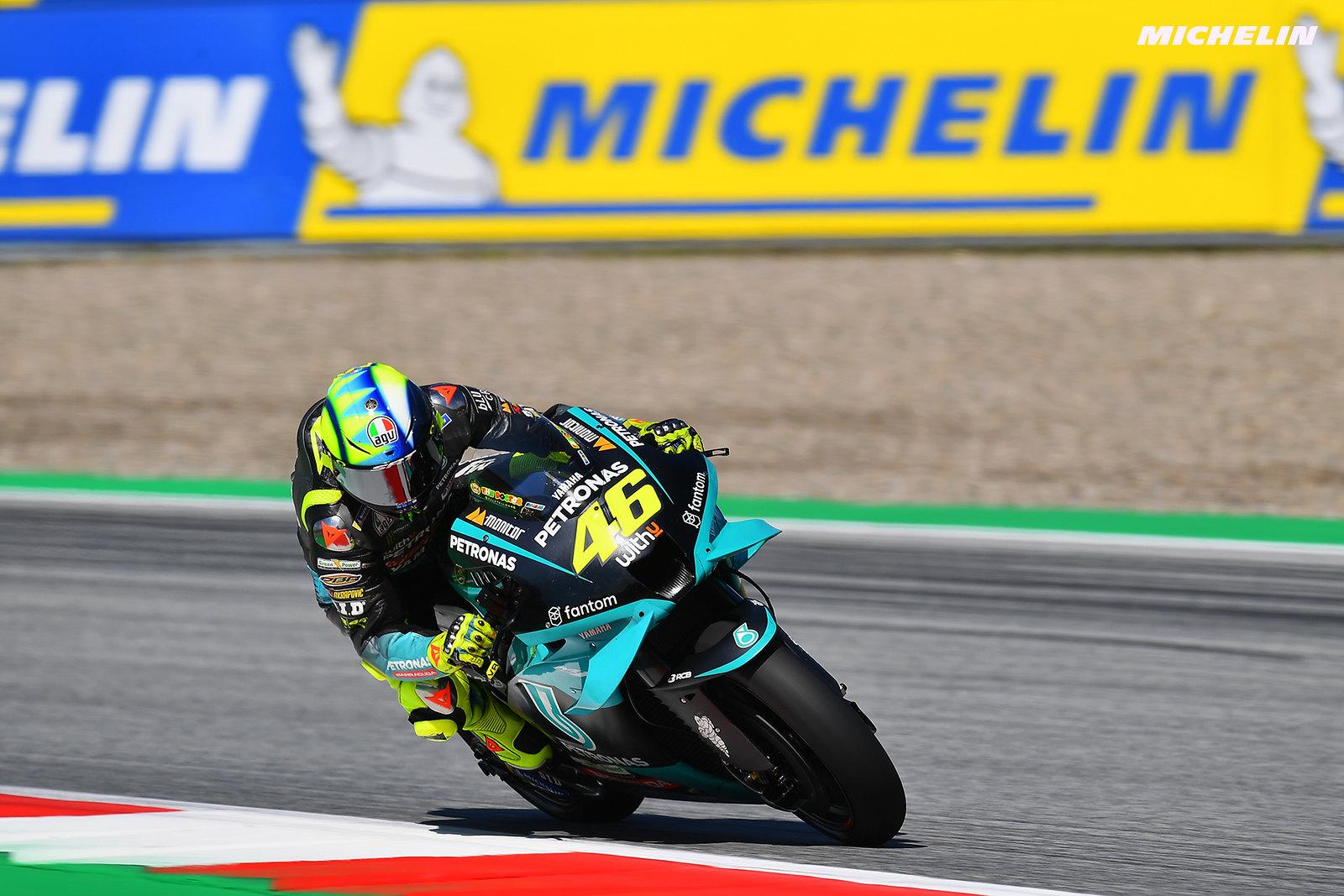 MotoGP2021スティリアGP 初日総合16位 バレンティーノ・ロッシ「多くの人からメッセージをもらった」