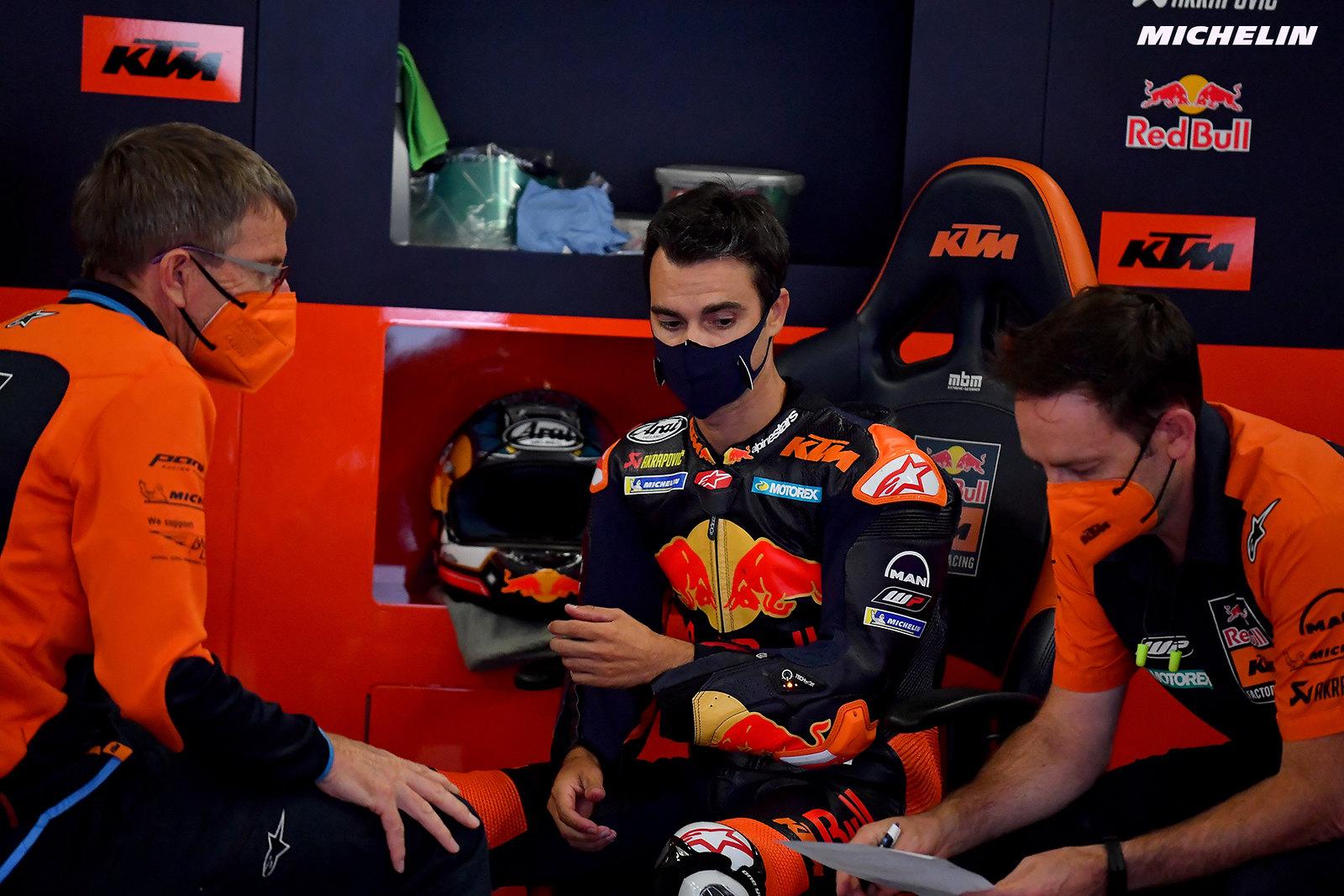 MotoGP2021 初日総合11位 ダニ・ペドロサ「FP3は更にクレイジーな状況になる」