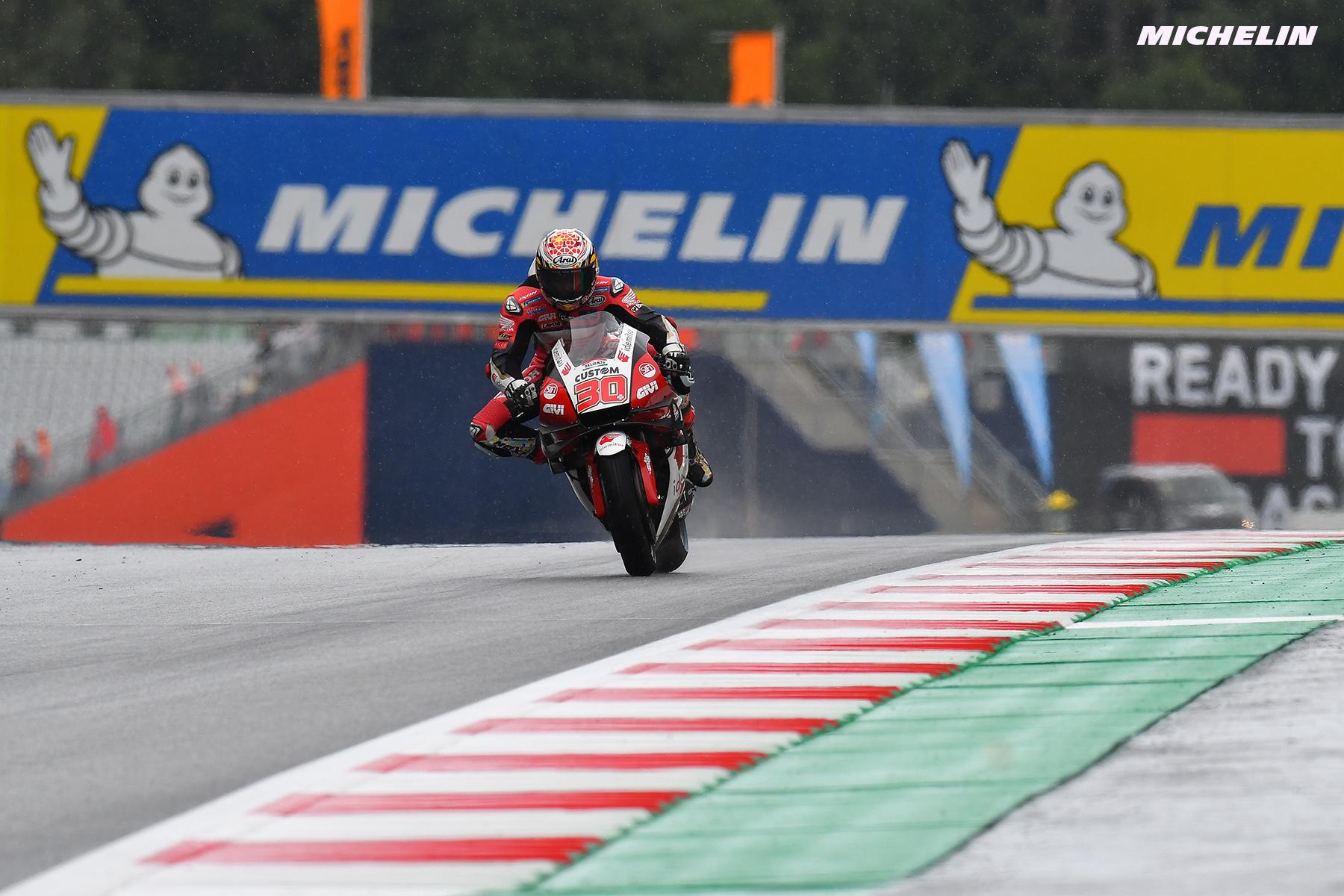 MotoGP2021 初日総合1位 中上 貴晶「FP1の結果は驚いた」