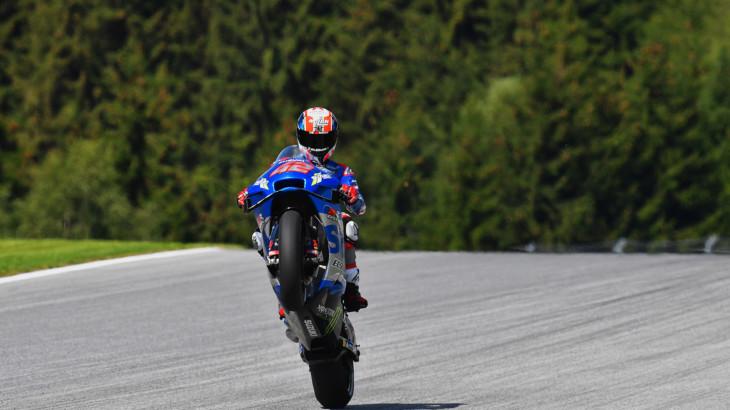 MotoGP2021スティリアGP 初日総合4位 アレックス・リンス「夏休み明けの走行は難しかった」