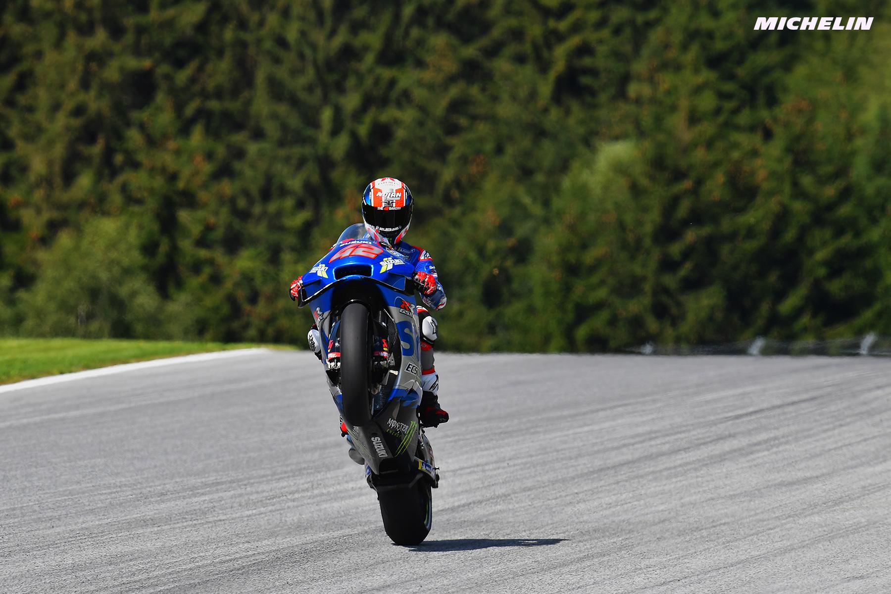 MotoGP2021 初日総合4位 アレックス・リンス「夏休み明けの走行は難しかった」