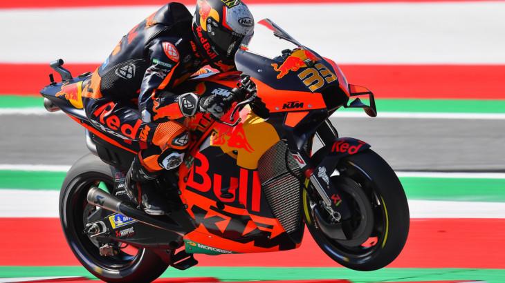MotoGP2021スティリアGP 4位ブラッド・ビンダー「フロントタイヤが柔らか過ぎた」