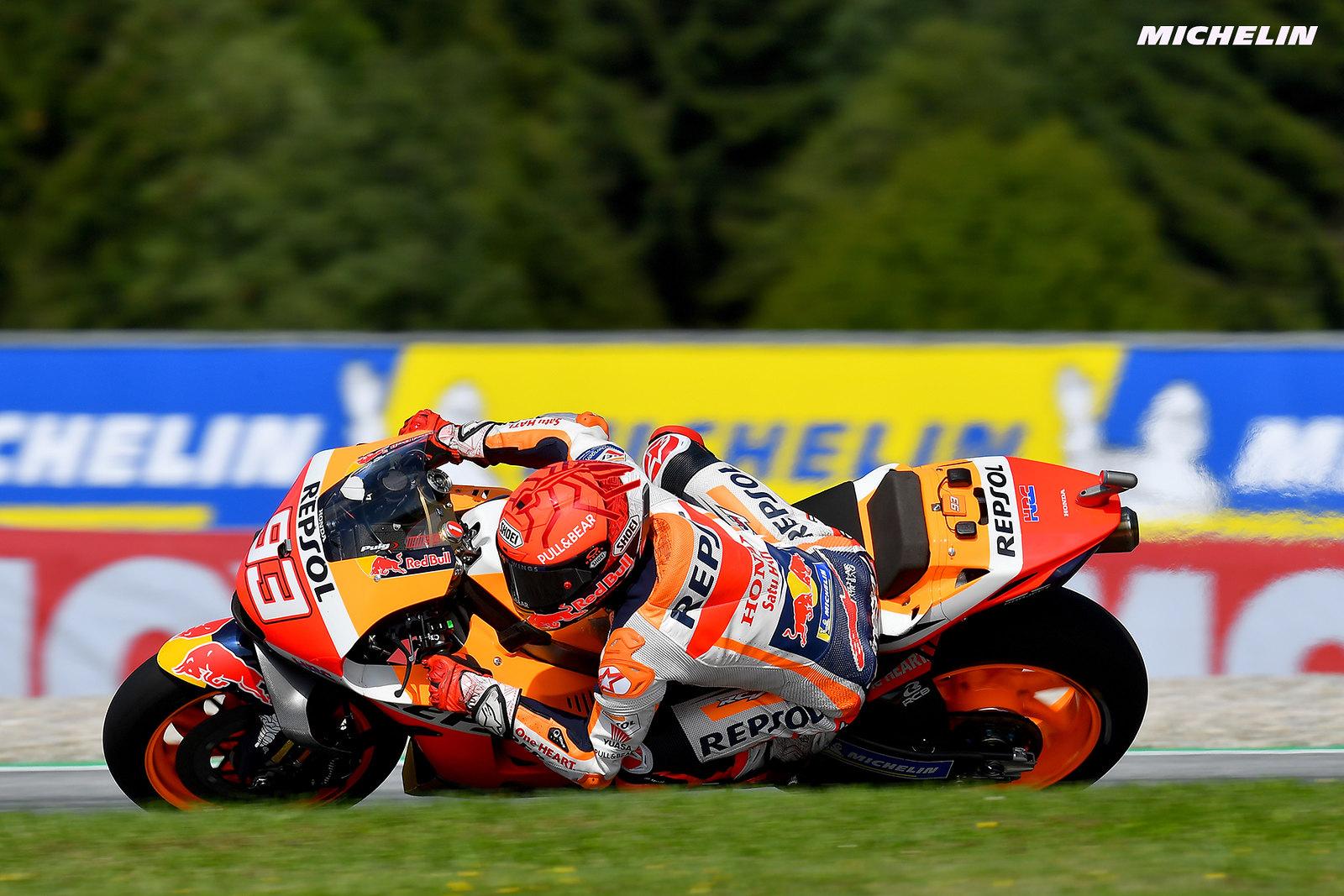 MotoGP2021スティリアGP 予選8位マルク・マルケス「腕はさほど問題にならないだろう」