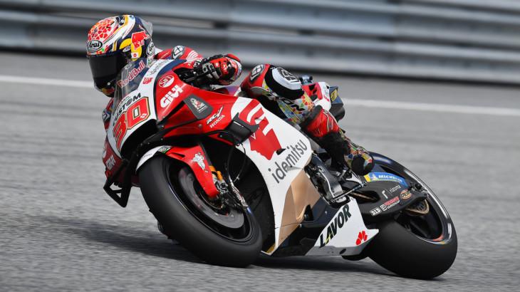 MotoGP2021スティリアGP 5位中上 貴晶「トラックリミット警告があったのでプッシュ出来なかった」