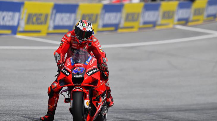 MotoGP2021スティリアGP 予選4位ジャック・ミラー「2回目のアタックでプッシュしすぎた」