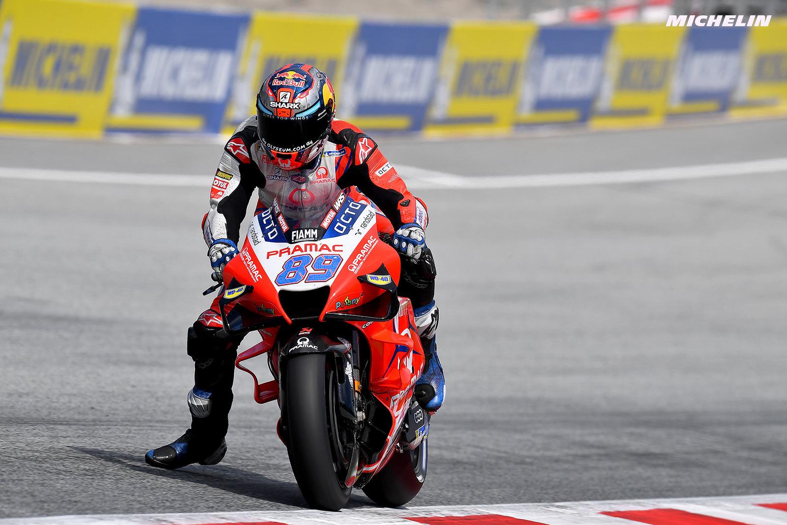 MotoGP2021 スティリアGP 予選1位ホルヘ・マルティン「ポール獲得の可能性はあると思っていた」
