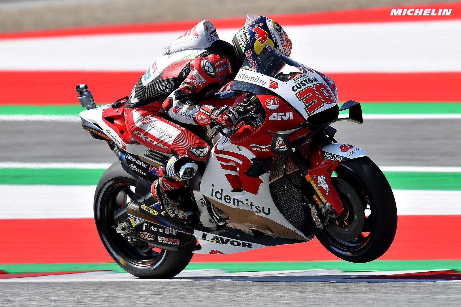 MotoGP2021スティリアGP 予選10位中上 貴晶「10番手は望んだ位置ではない」