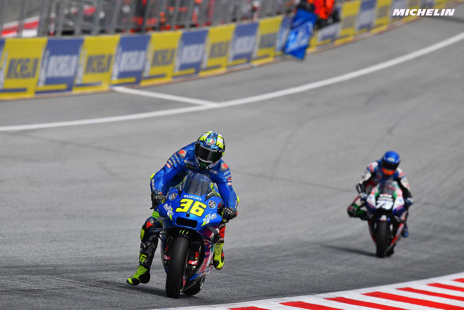 MotoGP2021スティリアGP 予選5位ジョアン・ミル「ライドハイトデバイスの効果を感じた」
