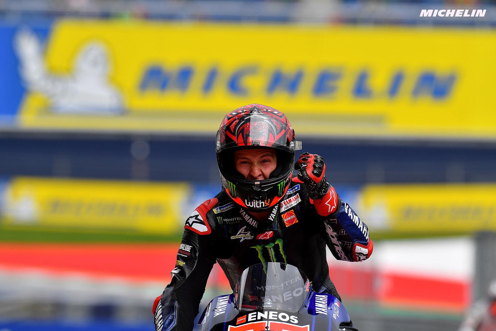 MotoGP2021スティリアGP 3位ファビオ・クアルタラロ「来週末に向けて準備を進めていきたい」