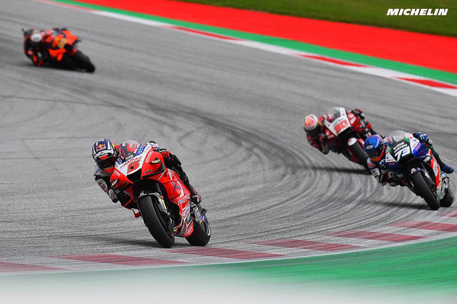 MotoGP2021スティリアGP 6位ヨハン・ザルコ「最後はタイヤが厳しく、無茶は出来なかった」