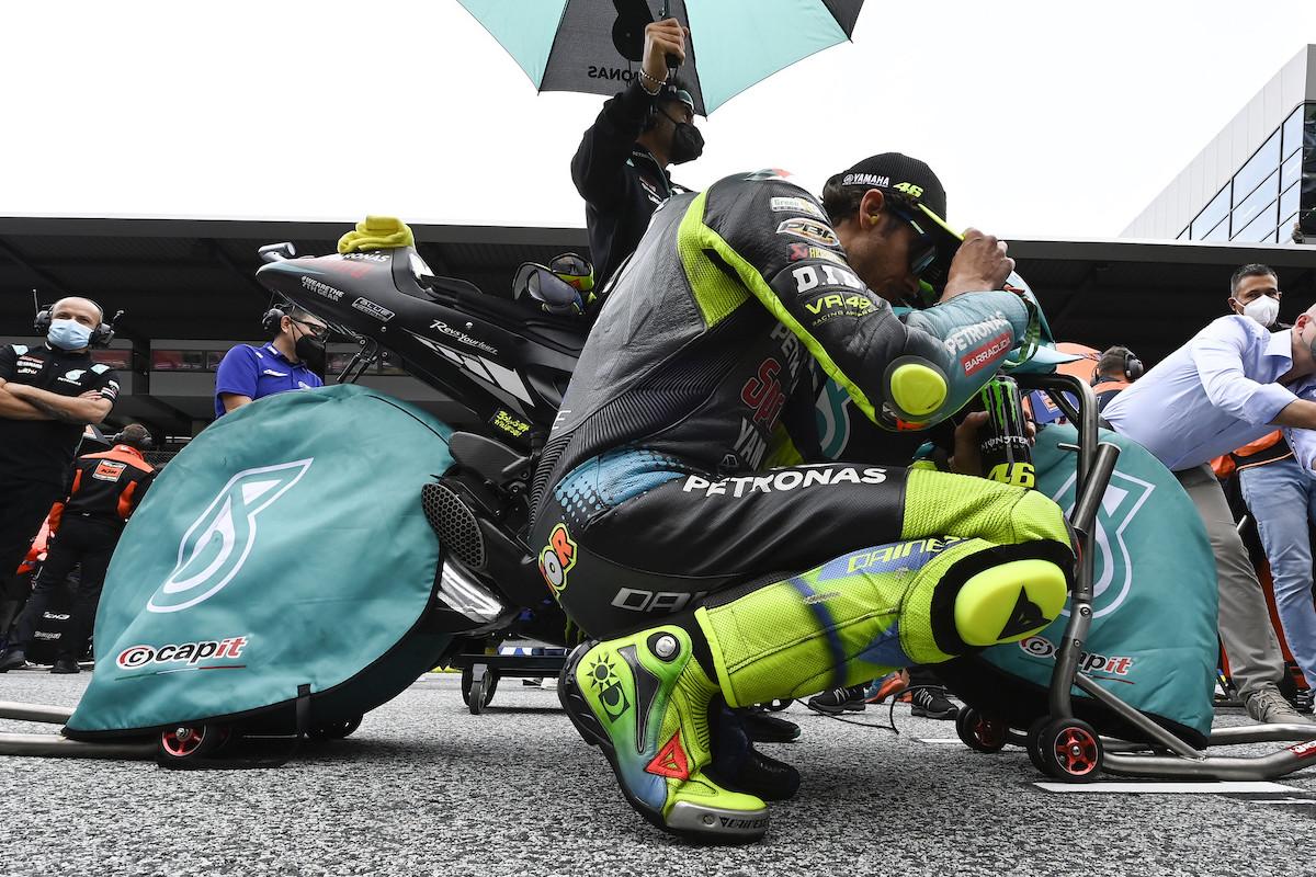 MotoGP2021オーストリアGP バレンティーノ・ロッシ「目標はトップ10、ポイント獲得」
