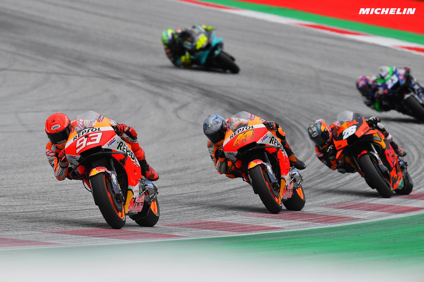 MotoGP2021スティリアGP マルク・マルケス「1回目は自分の、2回目の接触はアレイシ・のミス」