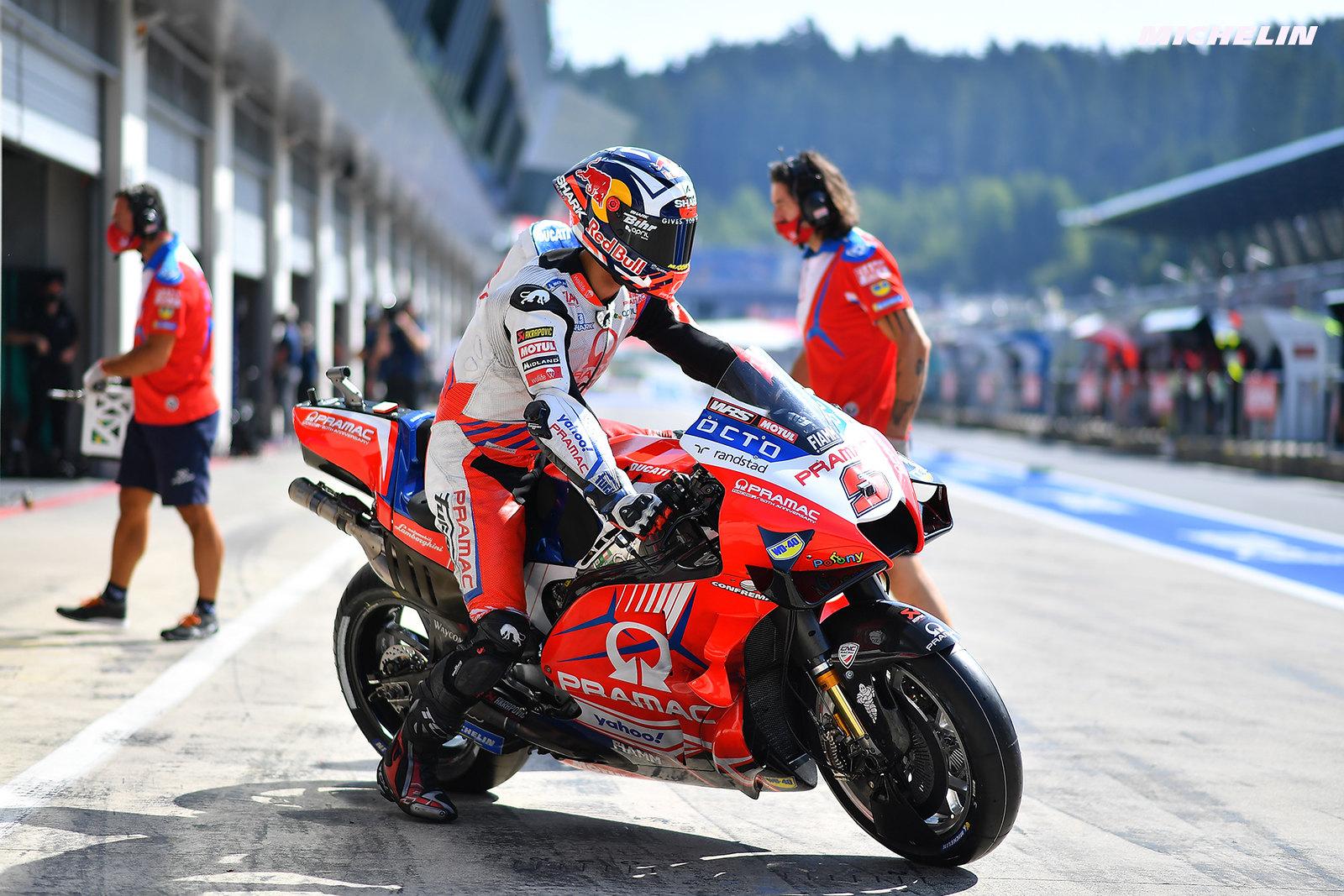 MotoGP2021オーストリアGP FP1  1位ヨハン・ザルコ「FP1最後にソフトリアを使用した」