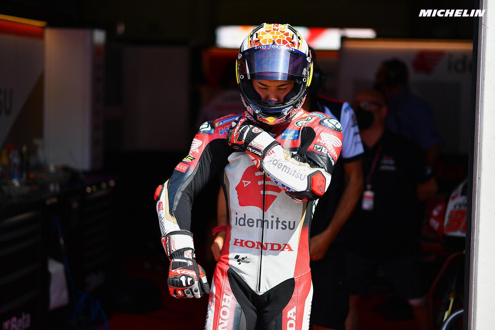 MotoGP2021オーストリアGP 初日総合 4位中上 貴晶「新しいハードフロントを使用する予定だった」