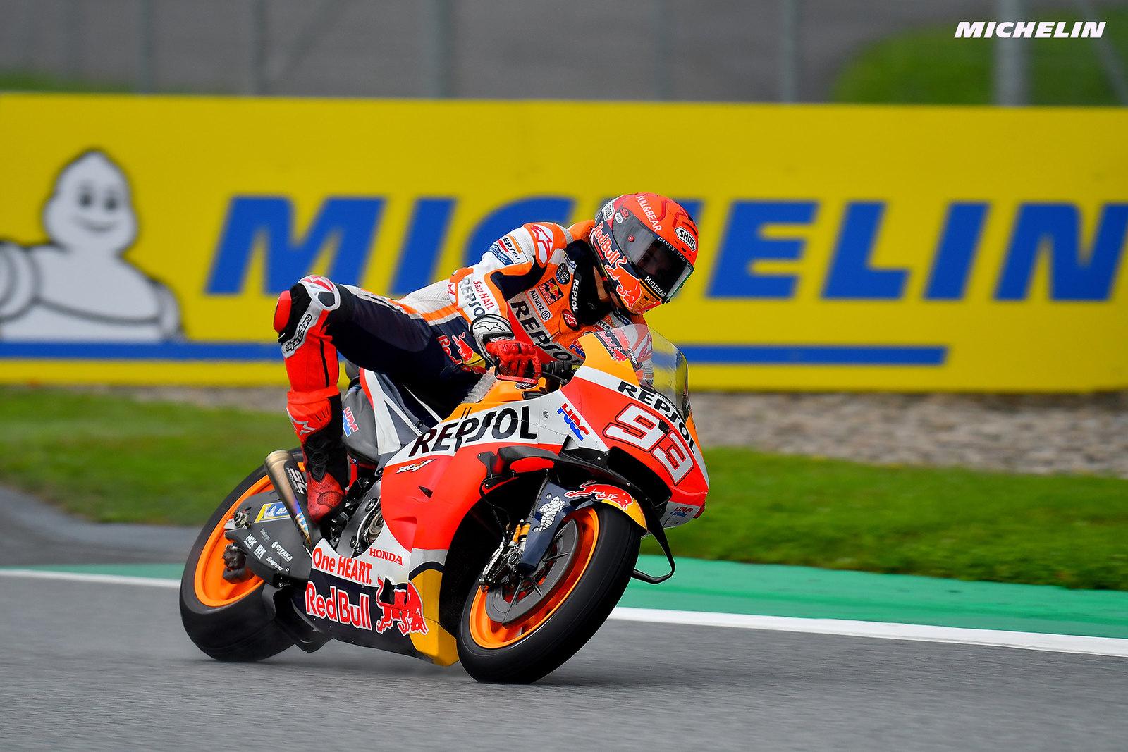 MotoGP2021オーストリアGP 初日総合  9位マルク・マルケス「レースも大事だが、新パーツのテストも大事」