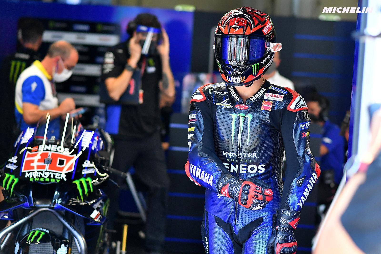 MotoGP2021オーストリアGP 初日総合 6位ファビオ・クアルタラロ「フィーリングは良かったがペースはイマイチ」