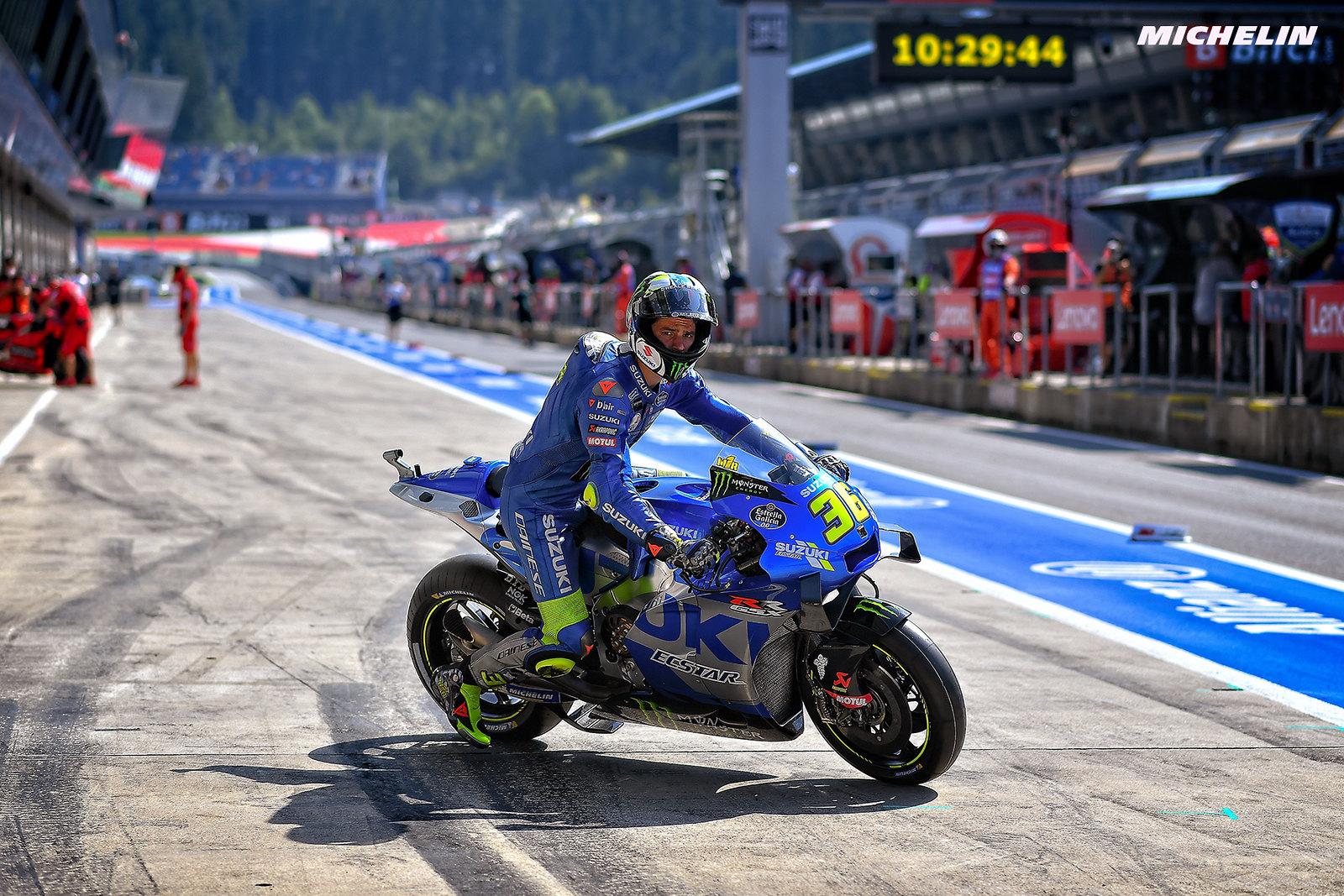 MotoGP2021オーストリアGP 初日総合  2位ジョアン・ミル「まだまだ改善の余地はある」