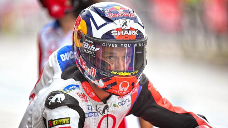 MotoGP2021オーストリアGP  初日総合1位 ヨハン・ザルコ「FP1最後にソフトリアを使用した」