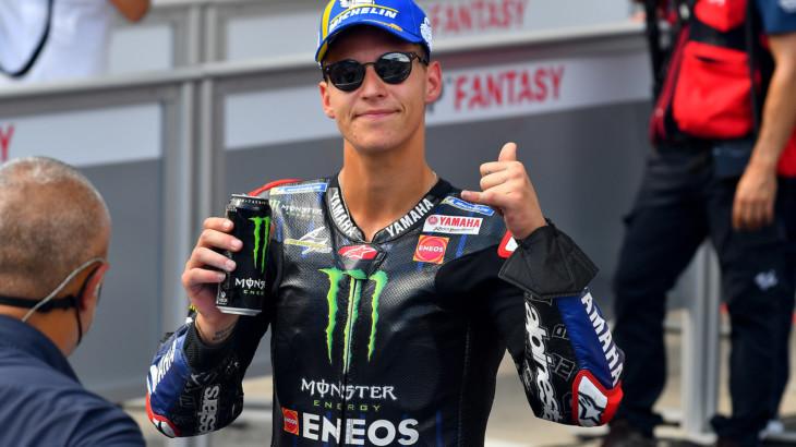 MotoGP2021オーストリアGP 予選2位ファビオ・クアルタラロ「ポールポジションを獲得したかった」