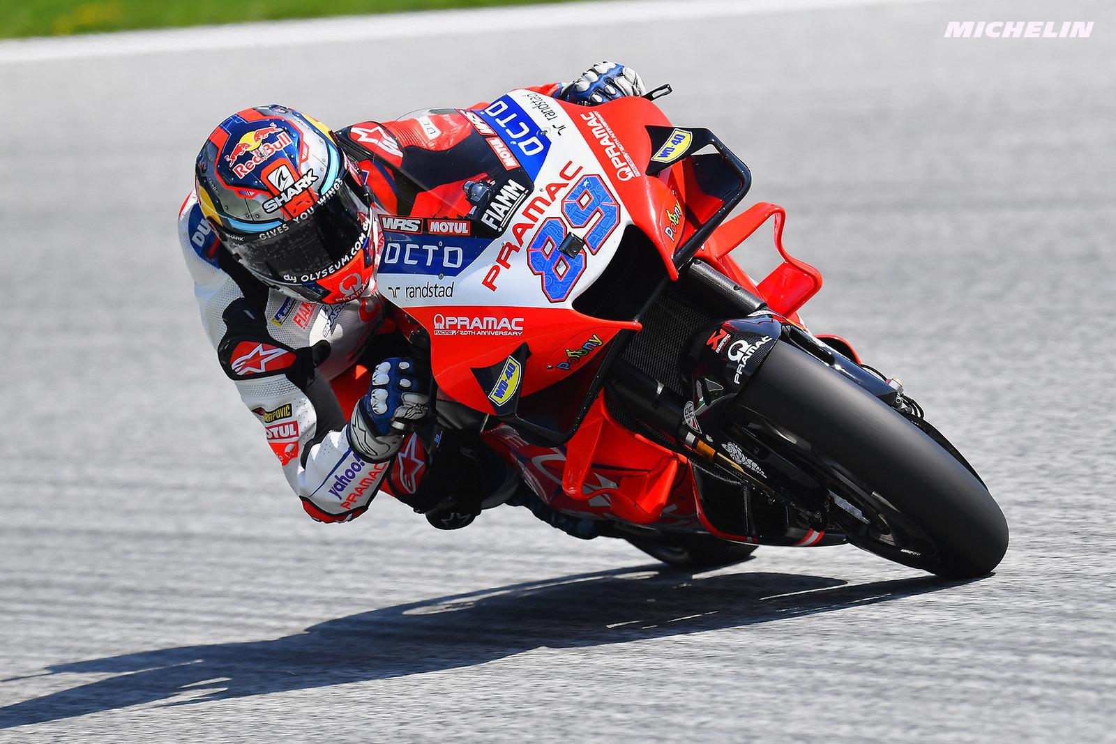 MotoGP2021オーストリアGP 予選1位ホルヘ・マルティン「予選ではしっかり自信を取り戻せた」