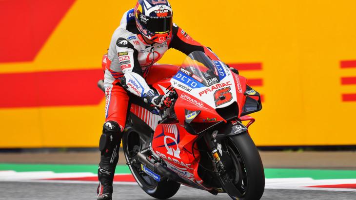 MotoGP2021オーストリアGP 予選4位 ヨハン・ザルコ「先週よりも準備が出来ている」
