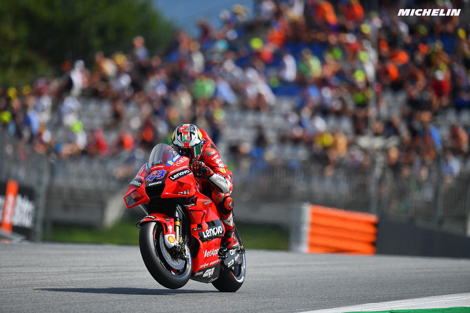 MotoGP2021オーストリアGP ジャック・ミラー「明日のレースタイヤをどうすべき悩んでいる」