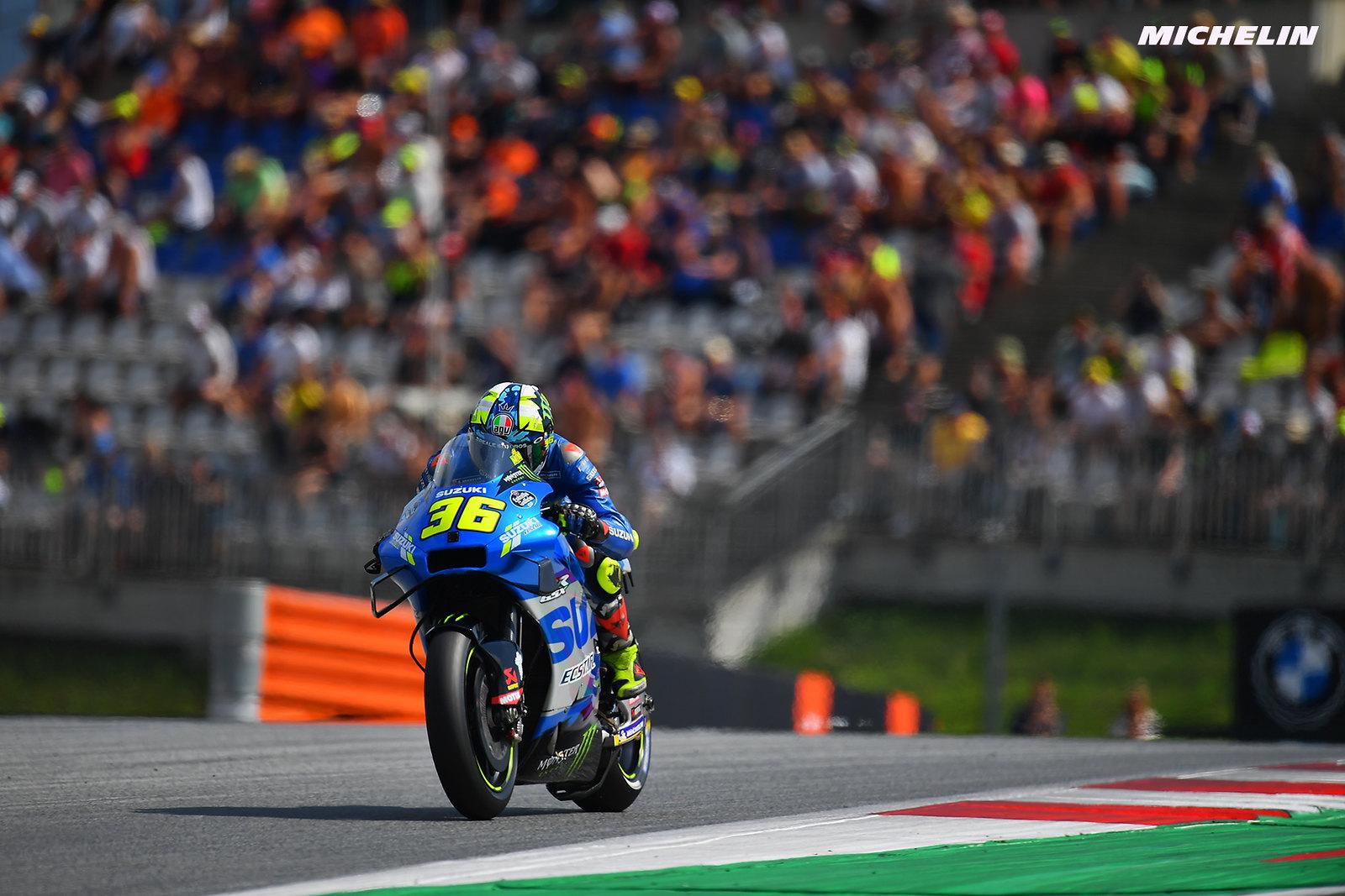 MotoGP2021オーストリアGP予選7位 ジョアン・ミル「暑い状況で少し苦戦した」