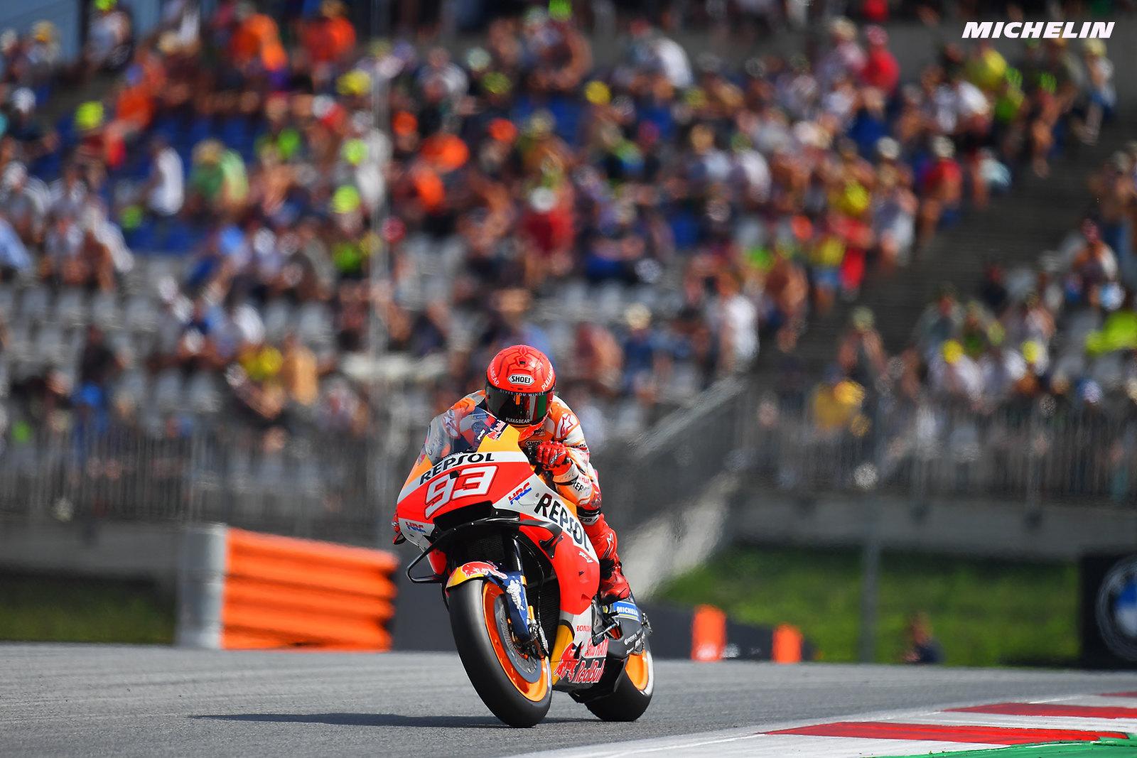 MotoGP2021オーストリアGP マルク・マルケス「今朝興味深い発見があった」