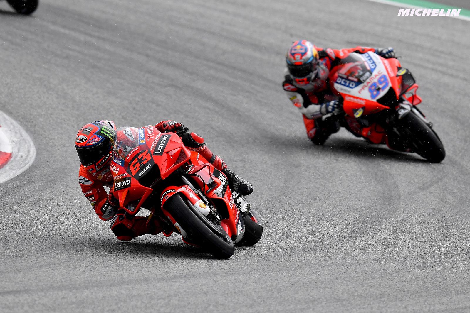 MotoGP2021オーストリアGP 2位フランセスコ・バグナイア「今日は表彰台を逃したと思っていた」