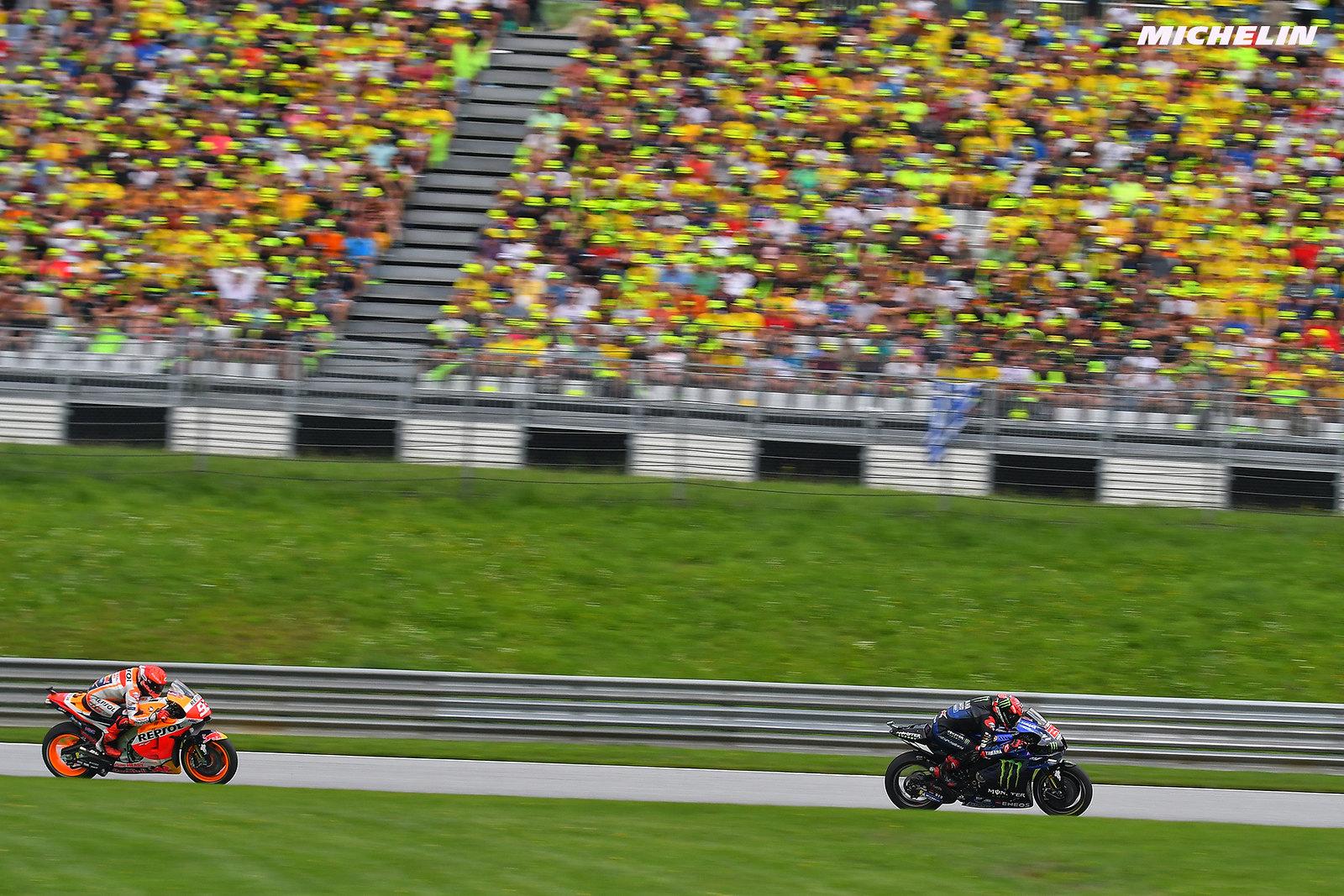 MotoGP2021オーストリアGP7位 ファビオ・クアルタラロ「ウェット走行の内容については満足していない」