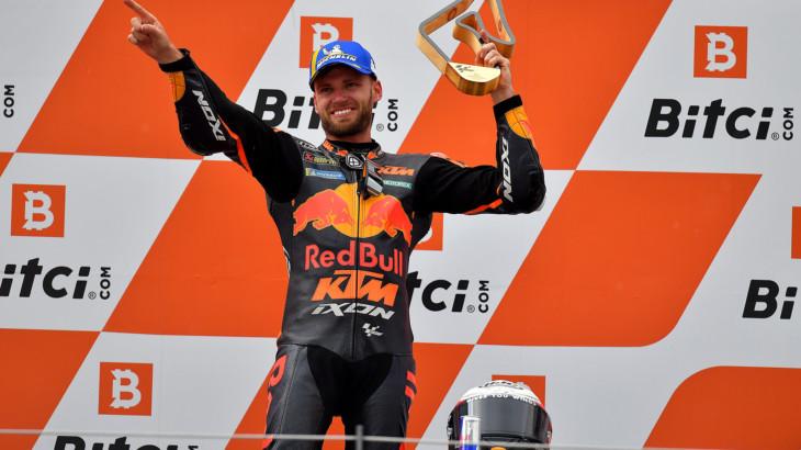MotoGP2021オーストリアGP 優勝ブラッド・ビンダー「運命の女神は勇者に味方する」