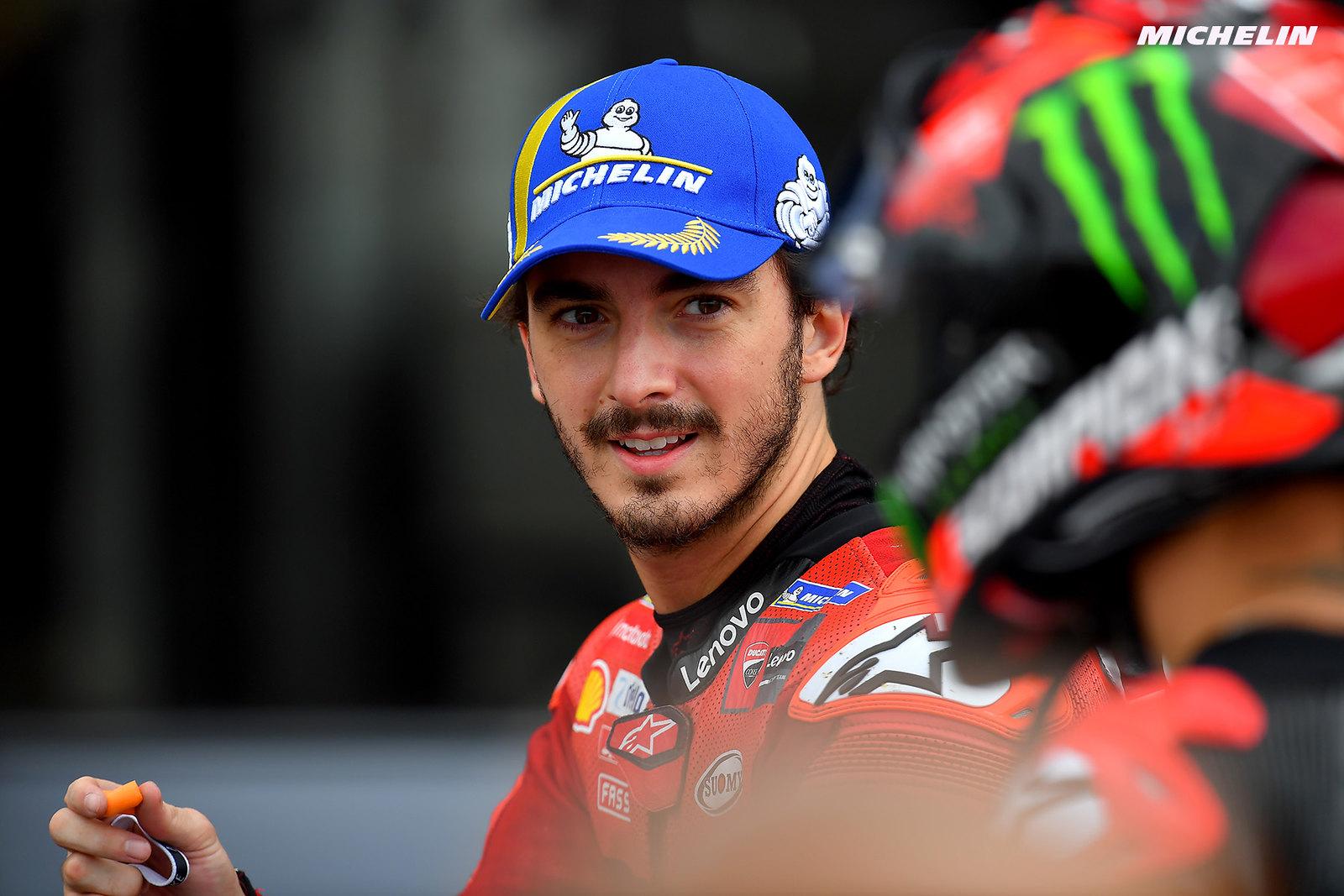 MotoGP2021イギリスGP 予選2位フランセスコ・バグナイア「明日のタイヤはミディアムもしくはハード」