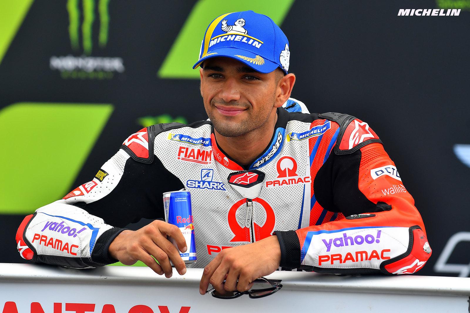 MotoGP2021イギリスGP 予選4位ホルヘ・マルティン「4番グリッドから良いレースが出来ると思う」