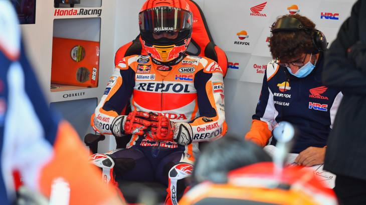 MotoGP2021イギリスGP 予選5位マルク・マルケス「明日はさらに目の調子が良くなるはず」