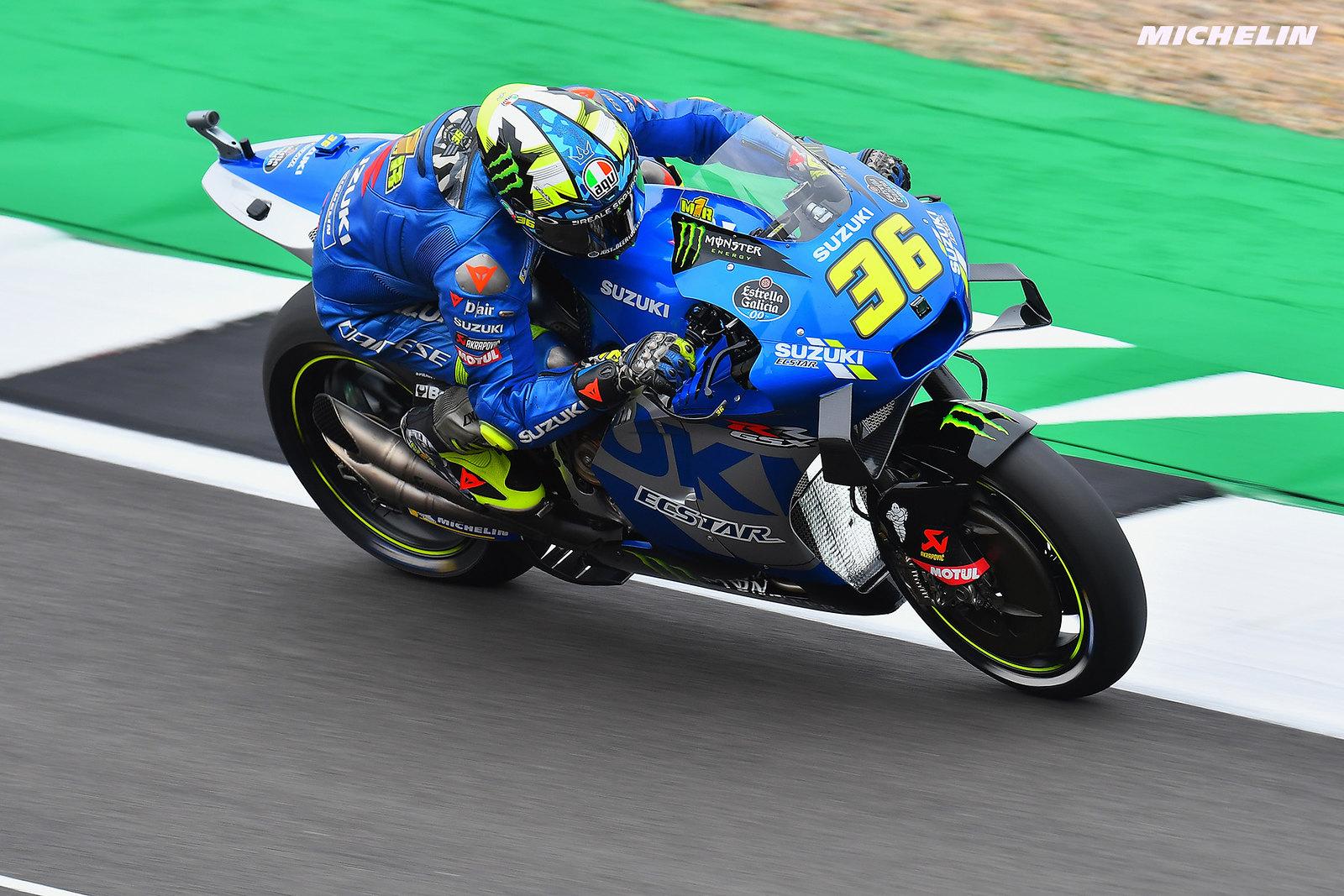 MotoGP2021イギリスGP 予選11位ジョアン・ミル「タイヤと電子制御に問題が出てしまったもの」